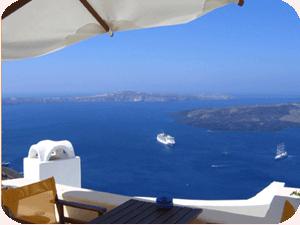 Hotel Blue Dolphins - Santorini, Greece